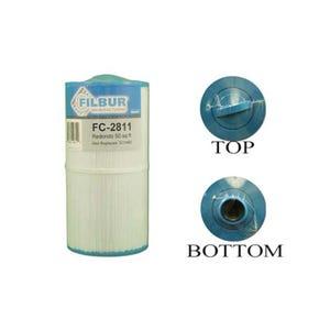 """Filter Cartridge Diameter: 5-1/2"""", Length: 11"""", 45 sq ft"""