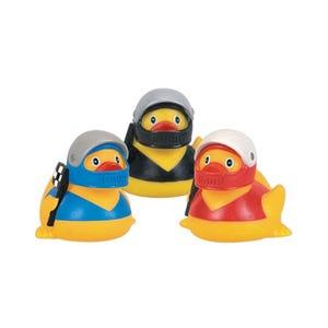 Rubber Duck Racecar Driver Duck