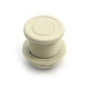 Air Button Beige, surface mount