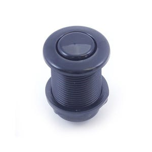 Air Button Black, flush mount