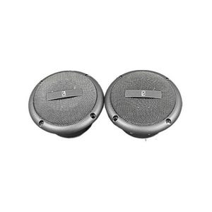 "Round flush mount speaker Color: Gray, Size: 3"", Wattage: 60W"
