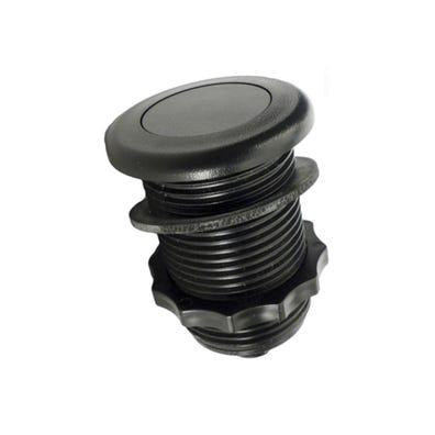Air Button Black, low profile