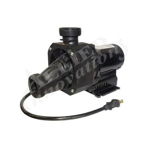 "Bath Pump Complete 3/4HP, 115V, 8.5A, 1-1/2""MBT w/Air Switch & NEMA Cord"