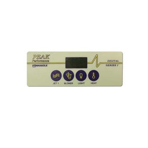 Keypad Overlay 4-Button, For PP-102