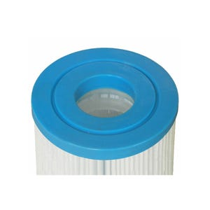 "Filter Cartridge Diameter: 4-15/16"", Length: 13-5/16"", Top: 2-1/8"" Open, Bottom: 2-1/8"" Open, 25 sq ft, Microban (Antibacterial)"