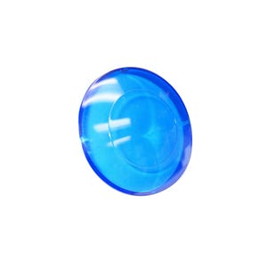 "Colored Lenses 2-1/2"", Blue"