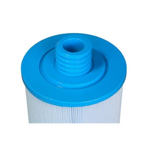"Filter Cartridge Diameter: 6"", Length: 8-1/4"", Top: Handle, Bottom: 1-1/2"" Male SAE Thread, 45 sq ft"
