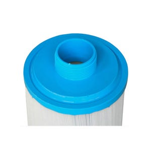 "Filter Cartridge Diameter: 7"", Length: 14-3/4"", Top: Handle, Bottom: 2"" MPT, 50 sq ft"