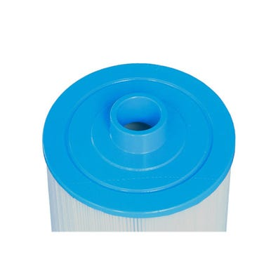 """Filter Cartridge Diameter: 8-7/16"""", Length: 19"""", Top: 1-1/2"""" male slip fitting, Bottom: 2-1/2"""" Open w/ beveled edge 125Sq. Ft."""