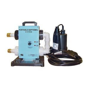 Baptismal Control System 115 V, 0.16 HP, Portable