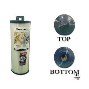 """Filter Cartridge Diameter: 4-5/8"""", Length: 11-5/8"""", 25 sq ft"""
