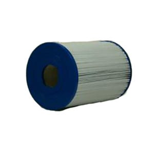"Filter Cartridge Diameter: 7"", Length: 9-3/4"", Top: Handle, Bottom: 2"" MPT, 40 sq ft"