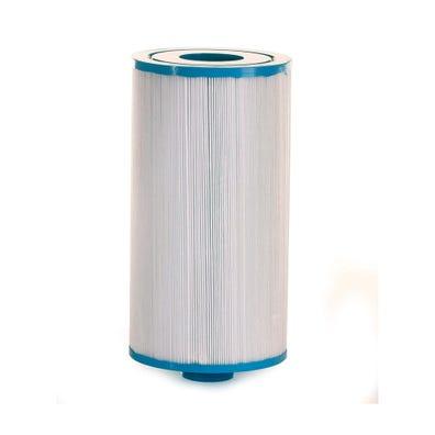 "Filter Cartridge Diameter: 5-5/16"", Length: 10"", Top: 2-1/8"" Open, Bottom: 1-1/2"" MPT, 45 sq ft"