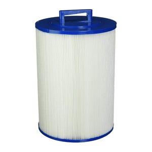 "Filter Cartridge Diameter: 8"", Length: 11-1/16"", Top: Handle, Bottom: 2"" MPT, 60 sq ft"