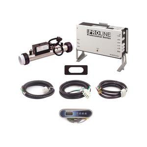 ProLine BP501G2 Series Control System 115/230V, 1.375/5.5Kw Slide, w/TP400T Spaside, Cords & Intergrated Ozone Module