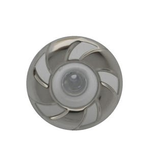 "Jet Internal Directional, 3"" Face, Gray/Stainlesss"