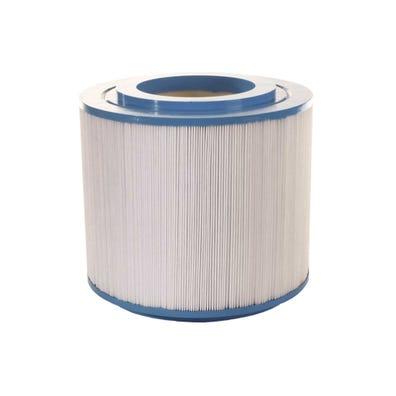 "Filter Cartridge Diameter: 7-3/4"", Length: 7-3/16"", Top: 4-1/16"" Open, Bottom: 4-1/16"" Open, 40 sq ft"