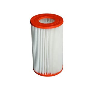 "Filter Cartridge Diameter: 4-1/2"", Length: 8"", Top: 2-3/16""Open, Bottom: 2-3/16""Open, 6 sq ft"