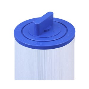 "Filter Cartridge Diameter: 4-3/4"", Length: 6-1/2"", Top: Handle, Bottom: 1-1/2""MPT, 25 sq ft"