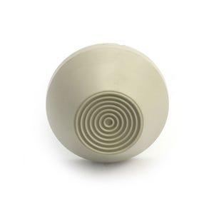 Air Button Beige, raised mount