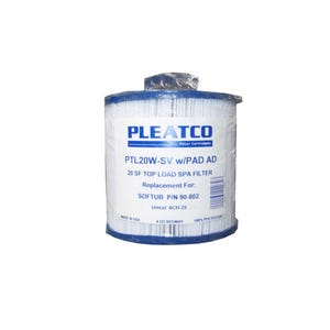 "Filter Cartridge Diameter: 6"", Length: 5-1/2"", Top: Handle, Bottom: 1-1/2"" MPT, 20 sq ft"