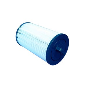 "Filter Cartridge Diameter: 6"", Length: 9-3/4"", Top: Handle, Bottom: 1-1/2"" MPT, 25 sq ft"