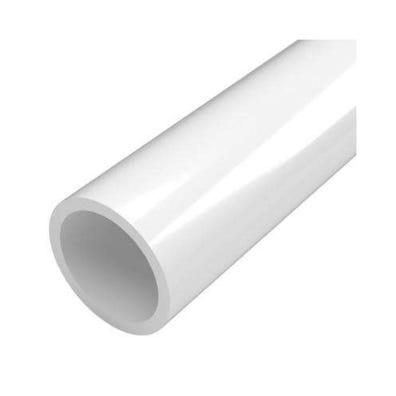 "PVC Pipe Bell End, 1-1/2"" x 20' Length"