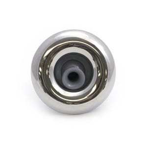 "Quantum Jet internal 4-3/8"" Face, Screw In, Directional, Gray w/ Stainless Escutcheon"