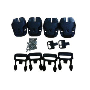 Cover Buckles Cover Buckle, Contains 4 Buckles