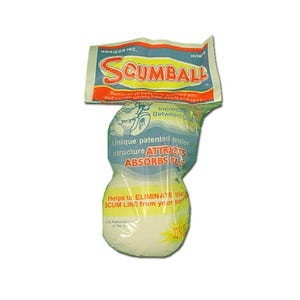 Scrub Cleaner Floating Scum Collector, 2-Pack