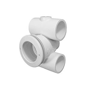 "Moodsetter Jet body 1-1/2""S Air x 1-1/2""S Water w/O-Ring,w/Wall Fitting,2-1/2""Hole Size"