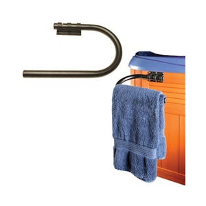 Backyard Accessories Towel Bar, Side Mount