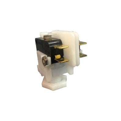 Air Switch Latching, DPDT, Side Spout