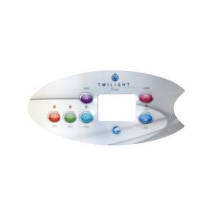 Keypad Overlay 2-Button, Twilight Series