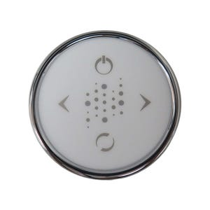 Bath Keypad LED, 4-Button, Chrome