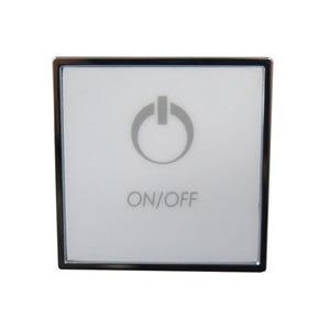 Bath Keypad 3-Button, For Variable Bath Pump, Chrome
